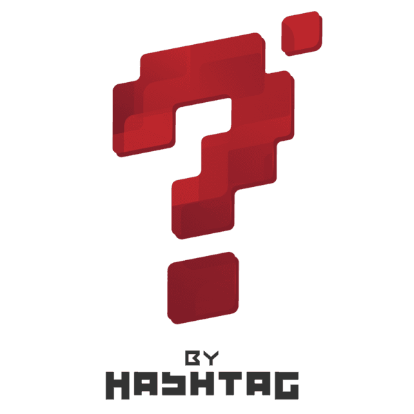 Questionmark by Hashtag